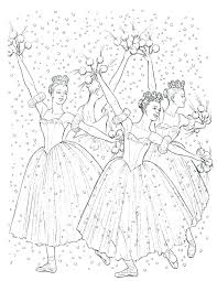 Clara Nutcracker Coloring Pages At Getdrawingscom Free For