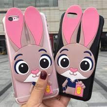 Мягкий мультфильм кролик телефона <b>чехол</b> s для <b>Nokia 3.1</b>C 3 3 ...