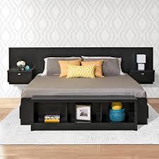 piece full bedroom set af set series   piece black king bedroom set