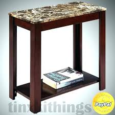 sidetables small sofa side table minimalist with storage faux marble top furniture village tab