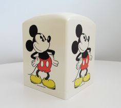 disney office decor. vintage classic mickey mouse tissue holder walt disney kleenex cover pop art office or decor i