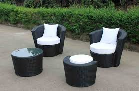 Patio patio set design lowes black and white round unique wooden
