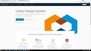 Clarity Design Vmware And Alexa With Clarity Ui Gideon Management Interface