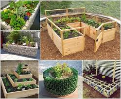 Small Picture Raised Garden Bed Ideas Garden Design Ideas