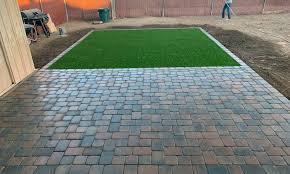 Stone Paver Designs For Walkways Paver Patios And Walkways Phoenix Az Morales Landscape