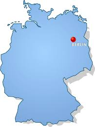 germany map  blank political germany map with cities