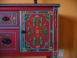 painted mexican furniturePainted Furniture on Behance  galisteo house  Pinterest  Paint