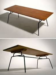 Iron And Wood Coffee Table Paul Mccobb Planner Wrought Iron And Wood Coffee Table 1950s