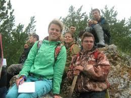 Учебные и производственные практики Студенты группы ГН 13 на учебной геологосъемочной практике