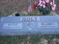 Myrtle Lucille Crawford Holt (1920-1957) - Find A Grave Memorial