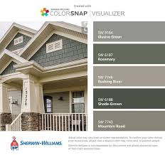 choosing some exterior house colors to