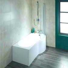 small bathtub shower combo tub combinations bathrooms one piece corner
