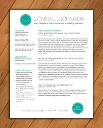Custom resume template Color circle initials by rbdesign2 on Etsy, $35.00