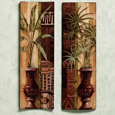 tropical wall decor
