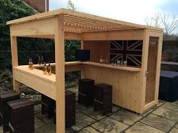 how to build an outdoor bar stunning backyard with roof rooftop