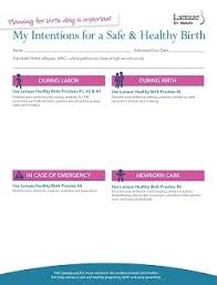 What Should A Birth Plan Look Like Lamaze For Parents Planning For Labor Planning For A Safe And