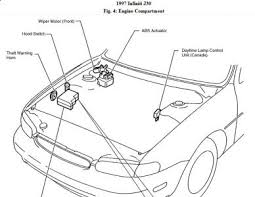 1997 infiniti j30 headlights electrical problem 1997 infiniti j30 here is a diagram of the healight circuits for your understanding since jump starting the vehicle had the headlight working briefly the most likely cause