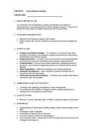 Junior Business Analyst Job Description: We Are Looking ... - Alpari Uk