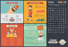 Sports Infographic Template Sports Infographic Template And Stock Vector Colourbox