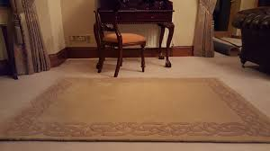 beige area rug with brown border eternity