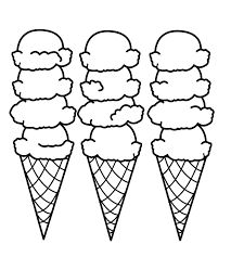 Small Picture Free Printable Ice Cream Coloring Pages For Kids