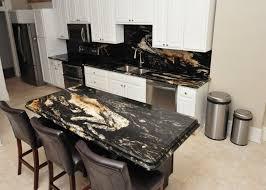 titanium granite kitchen overhead view of open kitchen with center island