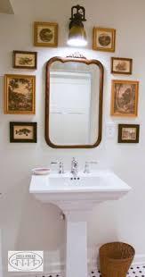 bathrooms get cote charm makeover