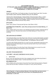 Agenda Of Ordinary Meeting 22 July 2019