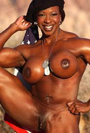 Free nude body builder woman