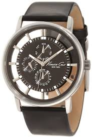 kenneth cole best watches at affordable price store classic kenneth cole kc1853 chronograph black dial black leather men watch
