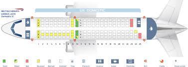 Seat Map Airbus A319 100 British Airways Best Seats In Plane