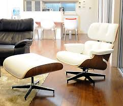 eames lounge chair and ottoman set white x walnut leather sitting comfortable is superb charles ray eames personal chair per person for one seat chair