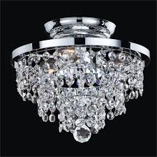 by katiek from chicago small crystal ceiling light fixture vista 628a by glow lighting