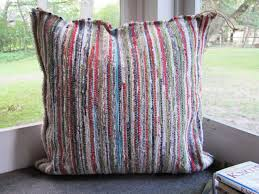 turn rag rugs into heavy duty floor pillows