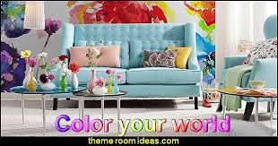 fun and funky - cute and colorful - chic and trendy decorating ideas -  unique decor