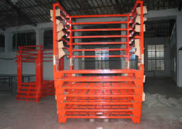 Powder Coating Racks Suppliers Powder Coated Portable Stacking Racks For Storage Seasonal Goods 75