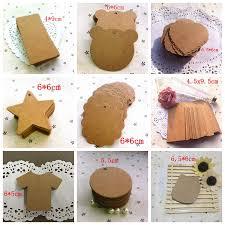 <b>20Pcs</b> 38 Design Options DIY Kraft Paper Tags Multiple shapes ...