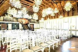 chandeliers chandelier banquet hall the chandeliers barn at event center in