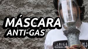 máscara anti gás casera you