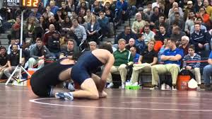 132: Marcus Iwama (Rumson) d. Anthony Gagliano (Howell) 9-7 - YouTube