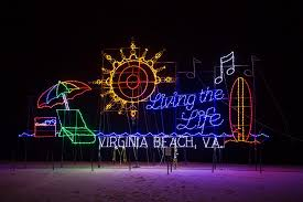 Holiday Lights At The Beach Virginia Beach Giveaway For Bayport Credit Union Holiday Lights Merry Mile