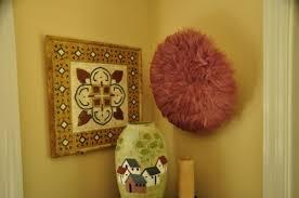 kenyan feather juju hat decorative
