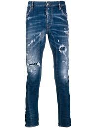 Dsquared2 Jeans Size Chart Dsquared2 Tidy Biker Jean