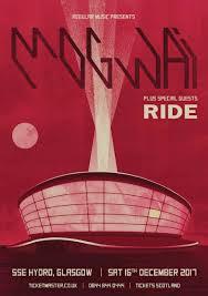 Mogwai Design Mogwai Ride Concert Posters Glasgow Design Inspiration