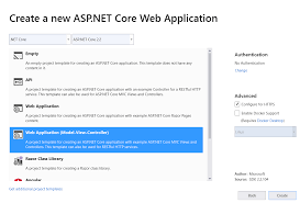 Get started with ASP.NET Core MVC | Microsoft Docs