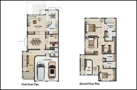 sample of color floor plan design for house