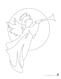 Angel Anime Coloring Pages Printable Angel Coloring Anime Angel