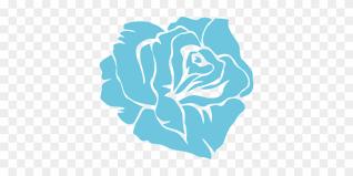 rose blue flower fl blossom nature rom 5 x7 area rug