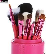 duo fiber quality makeup brush kit directly from china brush kit suppliers temptalia brand 12 pcs makeup brushes kit studio holder