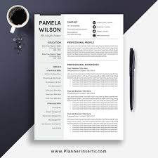Professional Resume Template Word Minimalist Cv Template 2020 Cover Letter Resume Fonts Resume Icons Resume Editing Guide Creative Resume Design